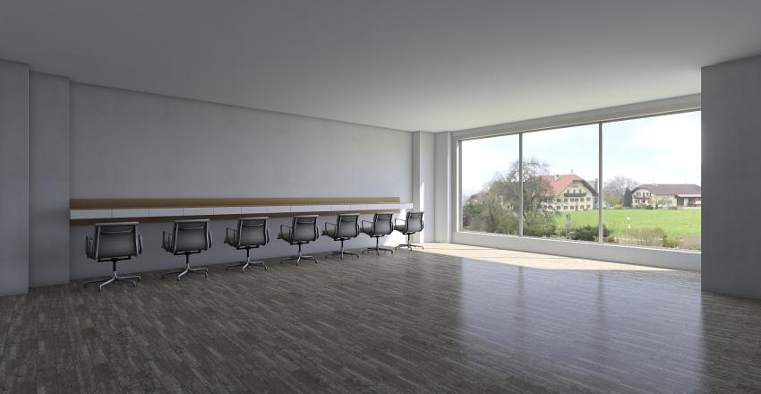 Moneyedge Office Interior Design Render