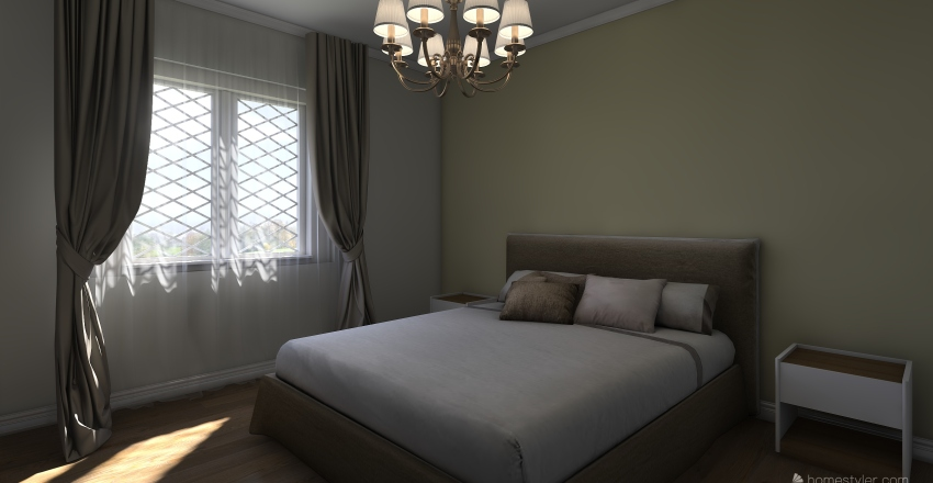 Casetta M&G Interior Design Render