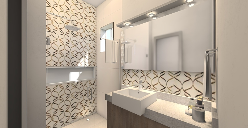 Andresa Cristina S. Interior Design Render
