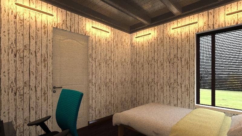 Chambre à louer Interior Design Render