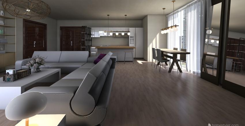 apartment 30  Interior Design Render