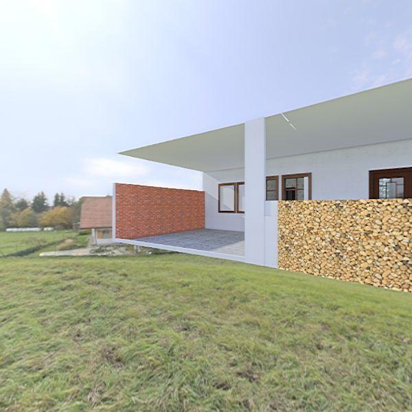 rumah jati Interior Design Render