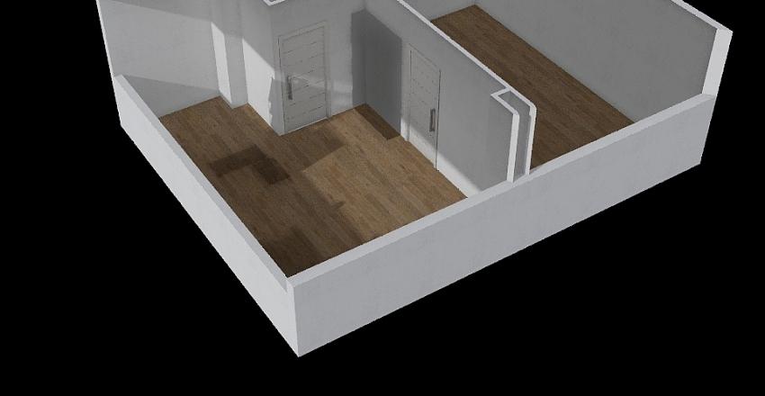 A45 - poddasze Interior Design Render