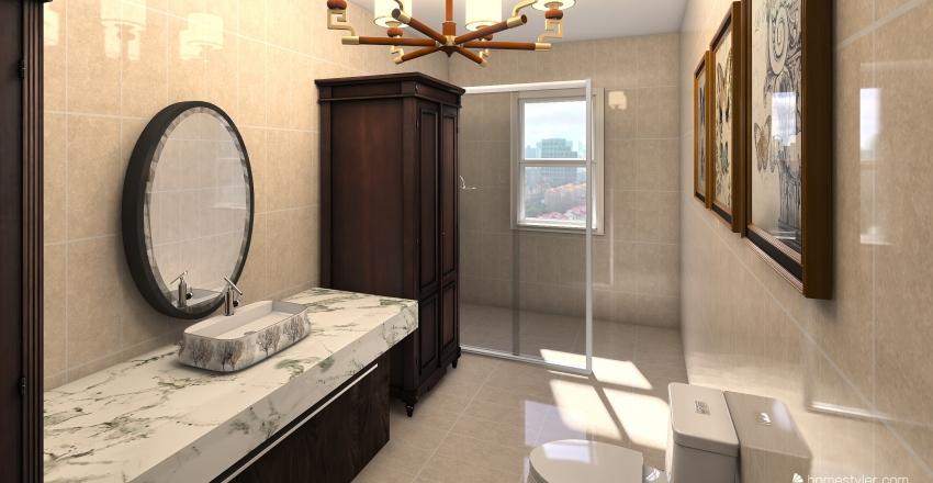Themed Bedrooms Interior Design Render