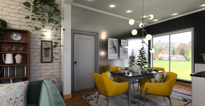 Sala Natura Interior Design Render