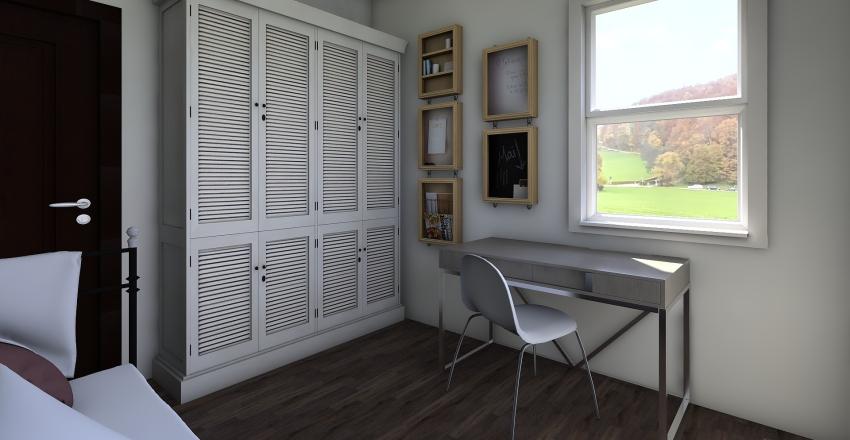 Compact Footprint Interior Design Render