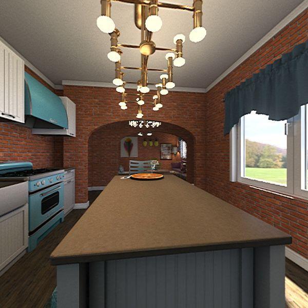 The Brick House Interior Design Render