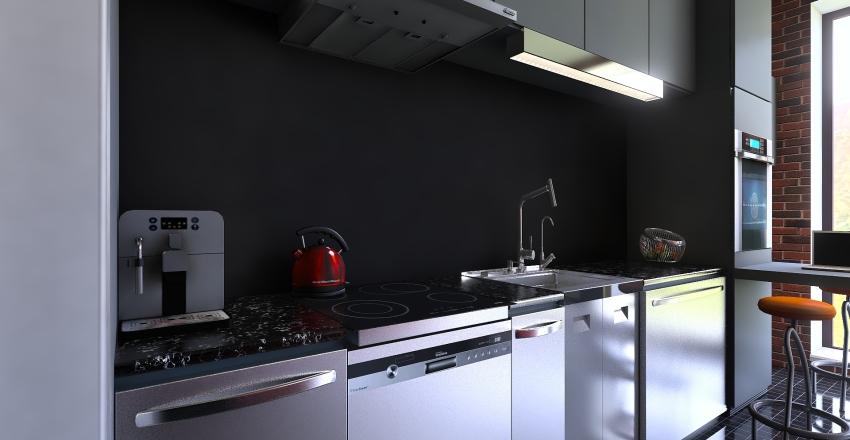 Avalon Studio Interior Design Render