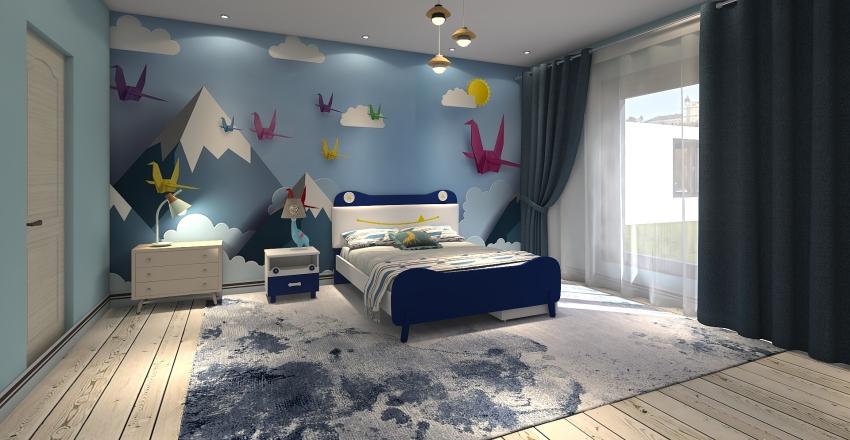 badroom Interior Design Render