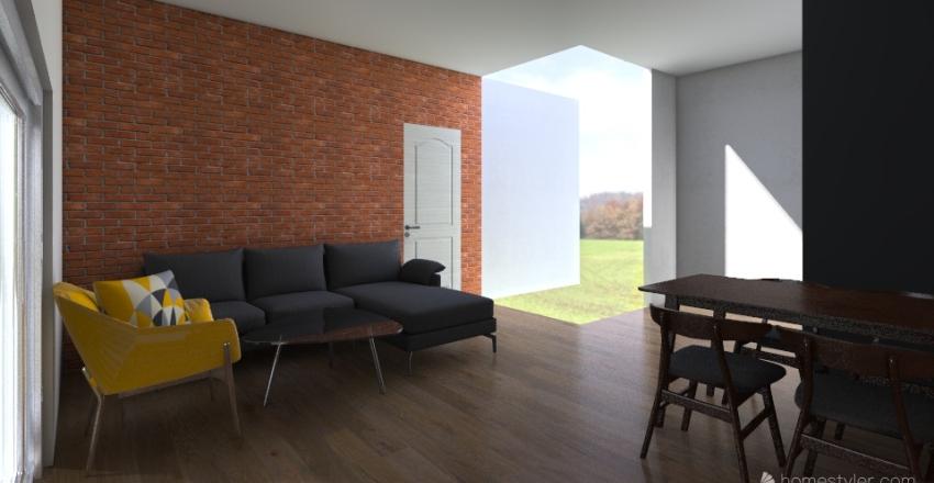 dębicka Interior Design Render