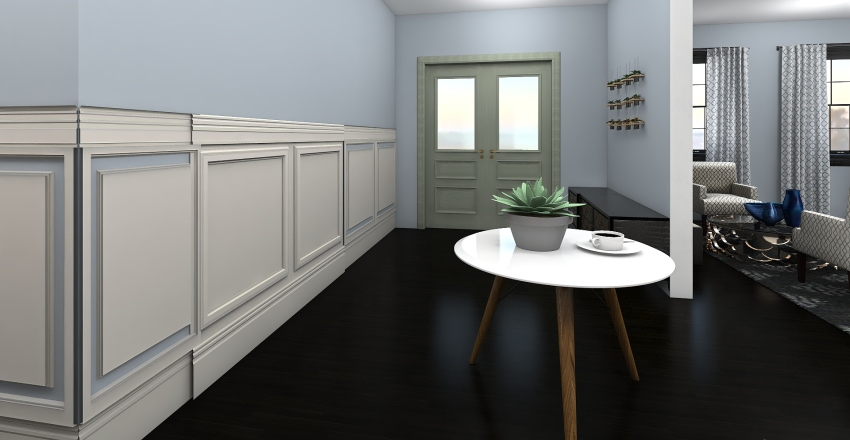Dream Home Modern  Interior Design Render