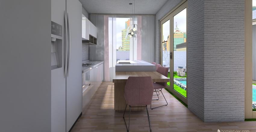 apartment 31 Interior Design Render