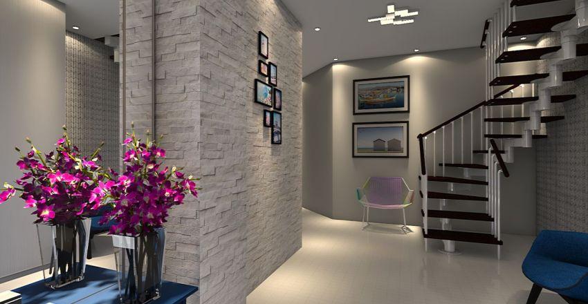 План квартиры №2 Interior Design Render
