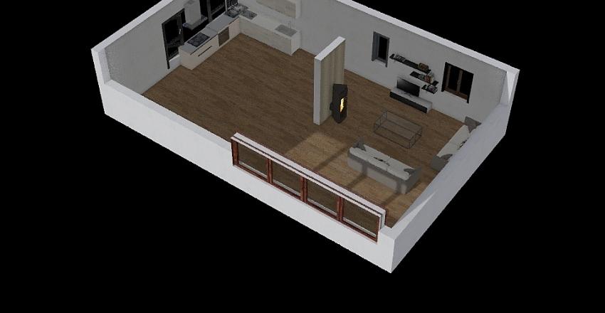L EPRONNIERE Interior Design Render