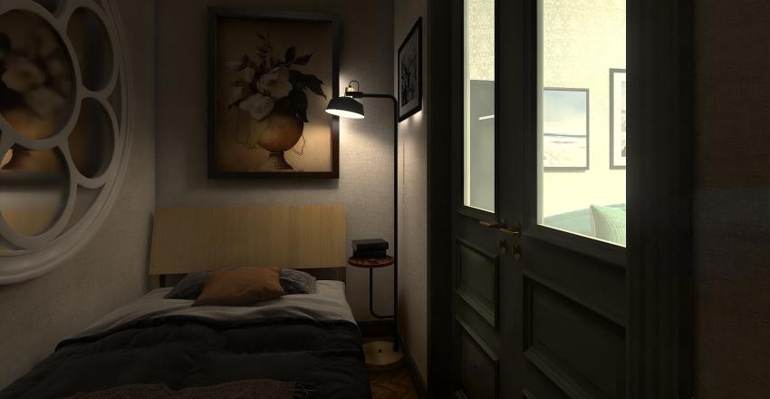 Finish version of the flat3 - 5 rooms Interior Design Render