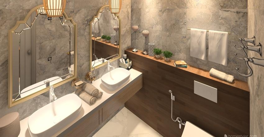 Bulanovs' home Interior Design Render