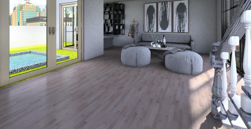 apartment 33 Interior Design Render