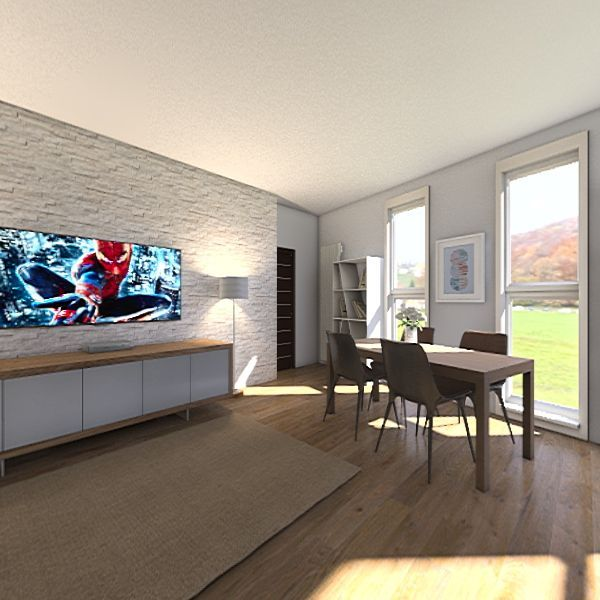 Casa via Ragazzi del 99 Interior Design Render