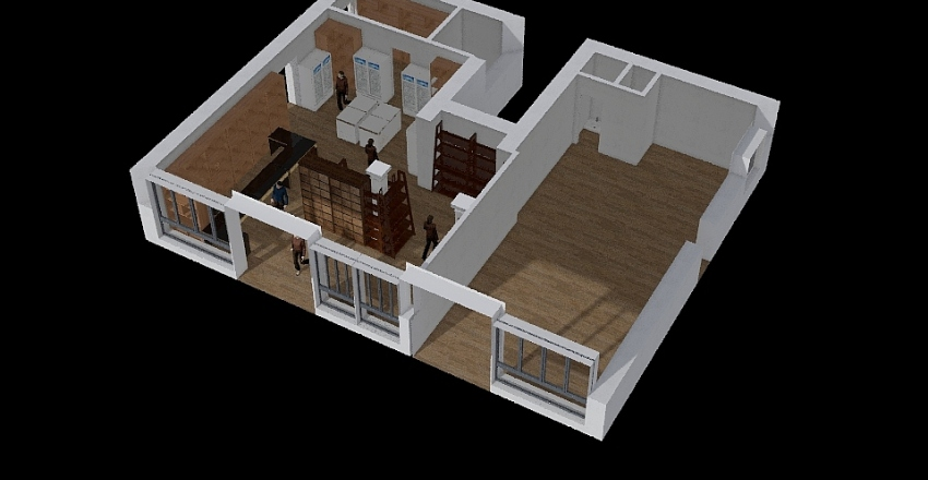 Bo3 Interior Design Render