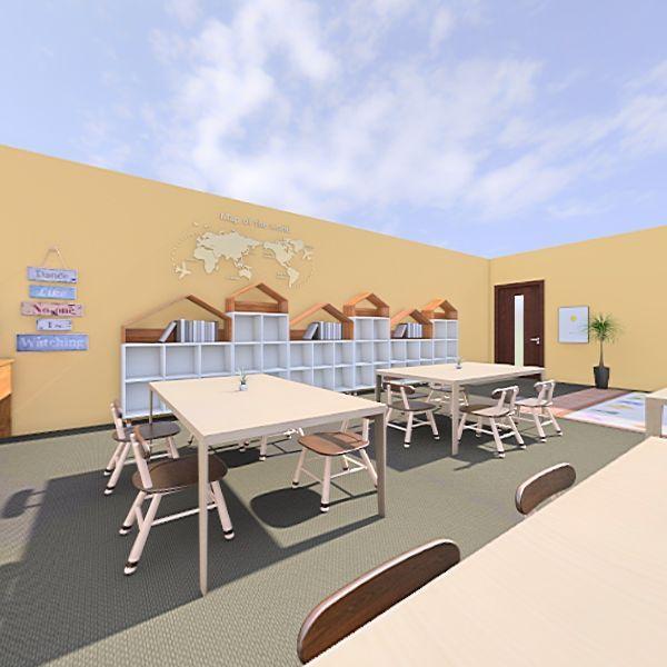 My Classroom! Interior Design Render
