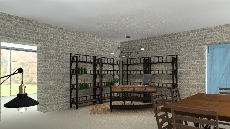 Quinta Couselo Interior Design Render