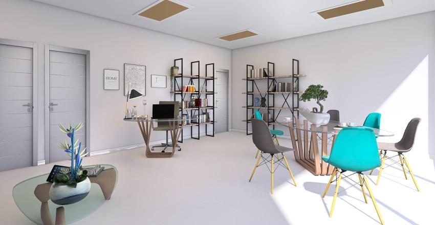 Office in Loznica Interior Design Render
