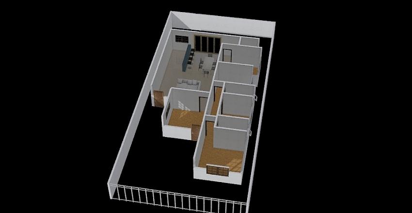 Casa Dani Pacola - V1 Interior Design Render