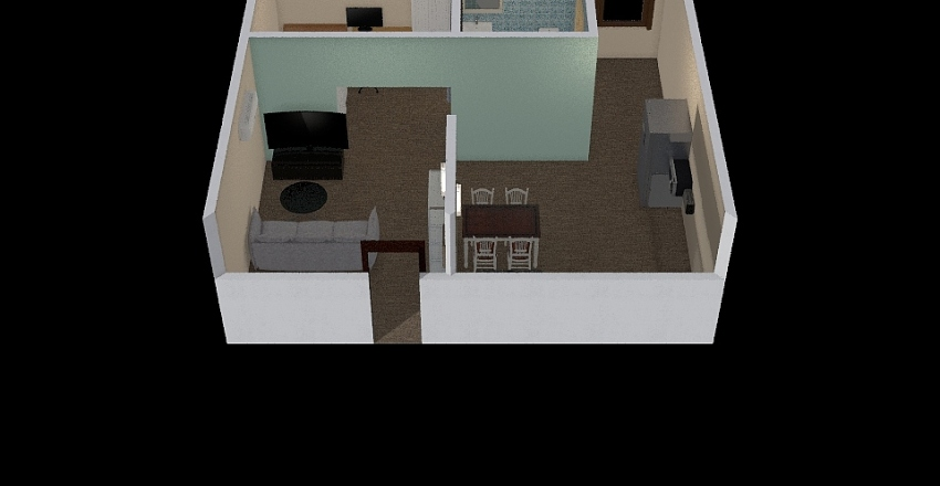 condoooooooo Interior Design Render