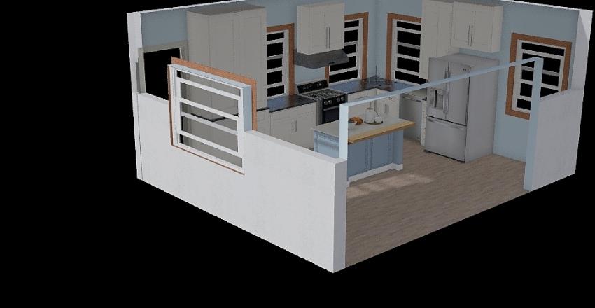 lake- enter storage Interior Design Render