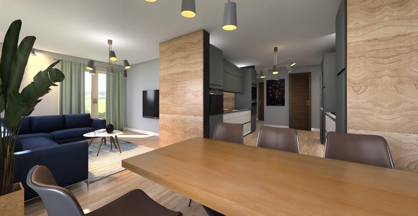 B144 20190101 kuchnia nowa v2 Interior Design Render