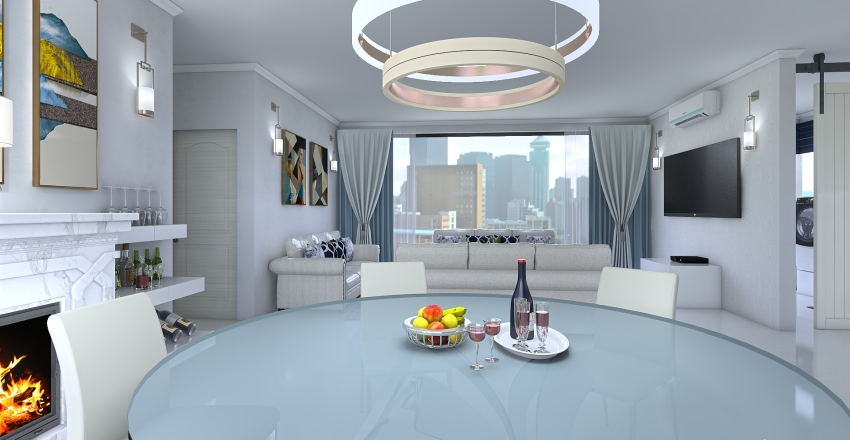 2cuar Interior Design Render