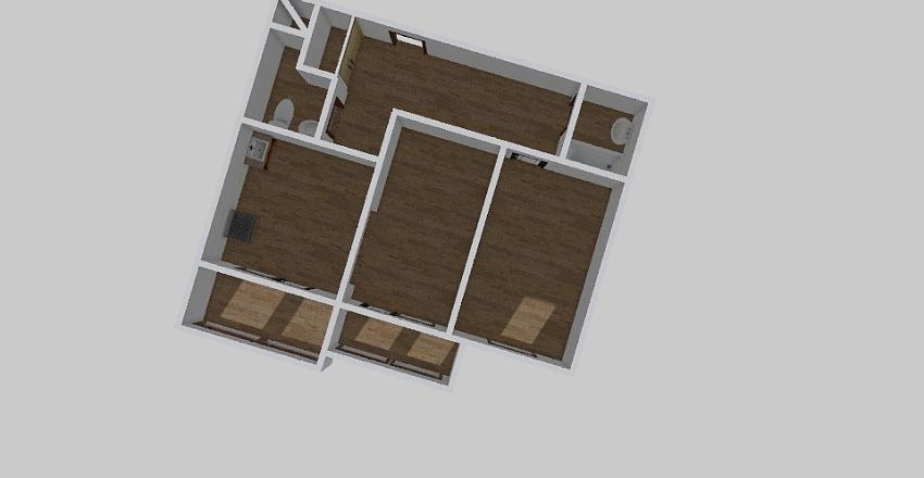 2-комн_0348 Interior Design Render