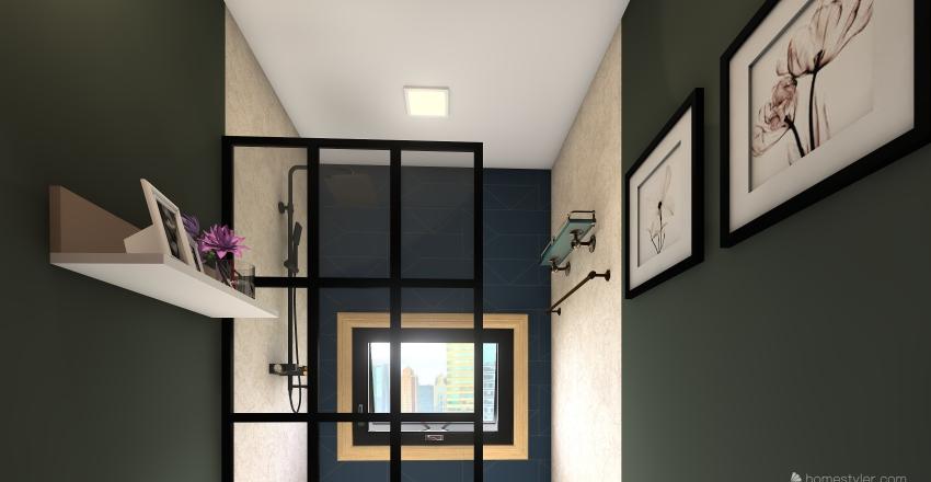 Tiyara (Floor plan with complete interior) Interior Design Render
