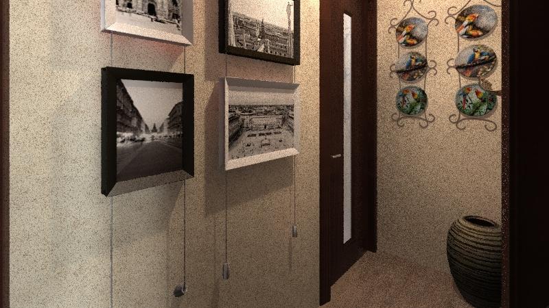 My student house Interior Design Render