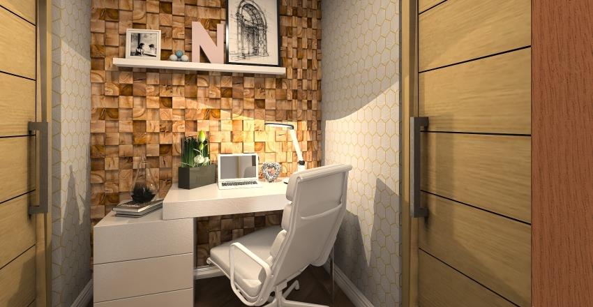 Apartment 63sqm Interior Design Render