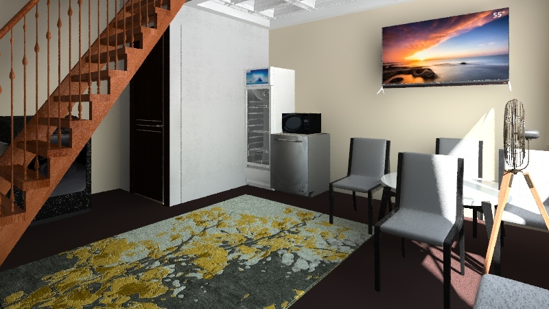 joes design Interior Design Render