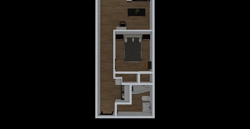 aparment Interior Design Render