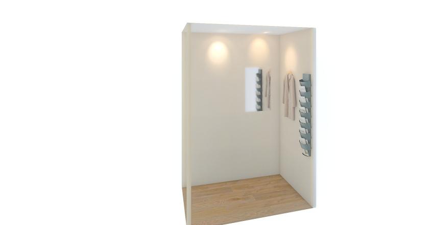 リテールテック試着室 Interior Design Render