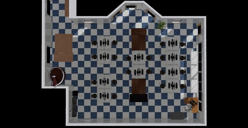 Arc Room Interior Design Render
