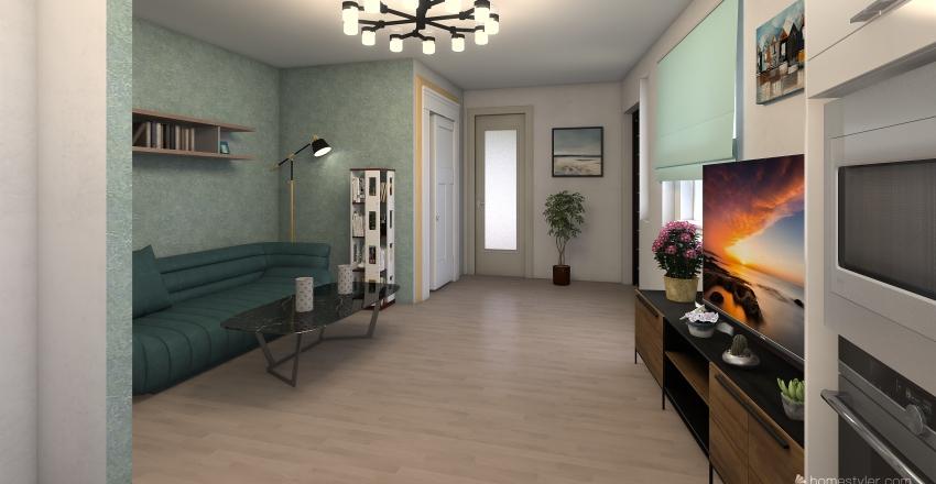 Proyecto Capellanes 2 Interior Design Render
