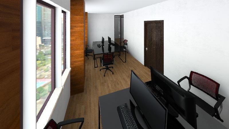 13R New Office Interior Design Render