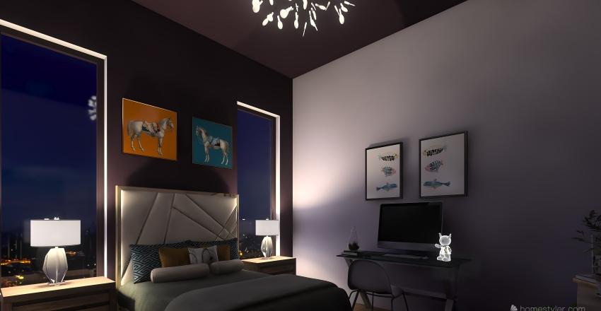 Apartment Rooms Interior Design Render