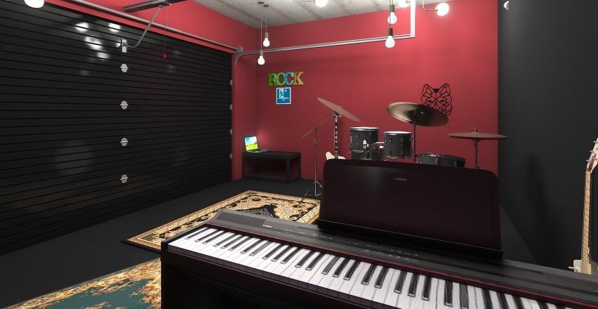 Rock Interior Design Render