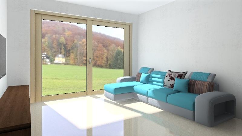 בית חדש Interior Design Render