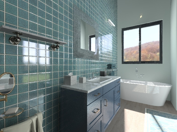 loft rustico Interior Design Render