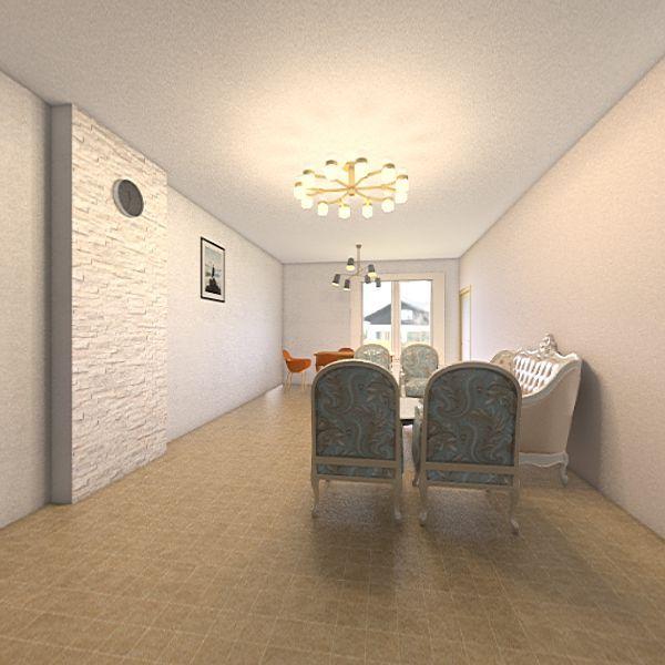 My Appartment- salon Interior Design Render