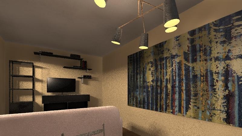 Distance Learning Interior Design Render
