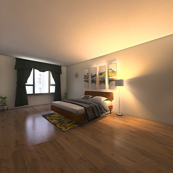 double room eleanor Interior Design Render