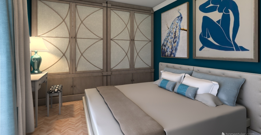parter Interior Design Render