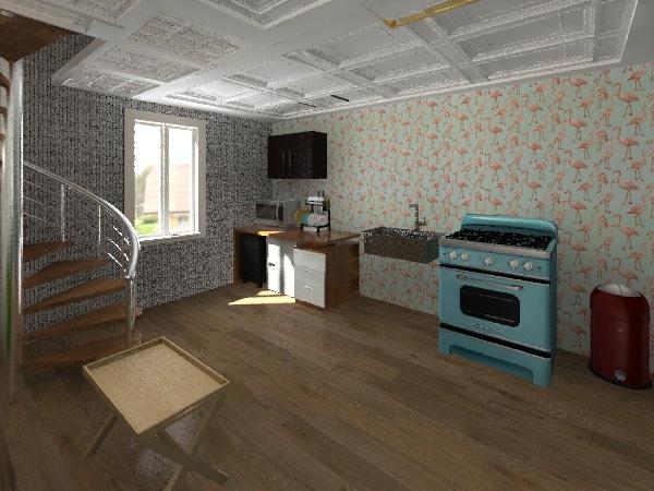 Tiny Houses Interior Design Render